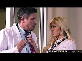 Slutty blonde (Tasha Reign) gets ass fuck by her doctor - BRAZZERS