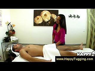 Talented Asian girls gives A handjob