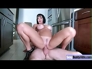 (Veronica Avluv) Big Juggs Horny Wife Like Hard Style Sex Action Clip-29