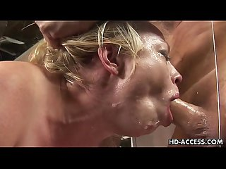 Deepthroat pro Adrianna Nicole best blowjob ever!