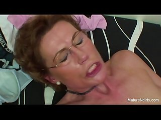 Mature slut gets fucked