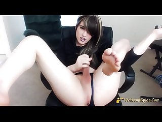 Angel American Amateur Teen Shemale SelfSuck And Cum 163517DE820-1009F - HD WebcamSpies.Com