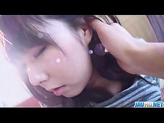 Harsh pussy penetration for reina japanese teen