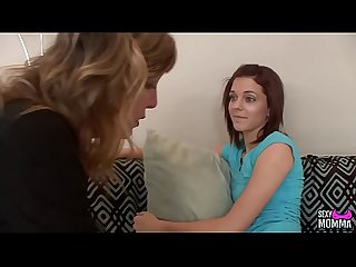 SEXYMOMMA - Teen gets completely seduces by her stepmother