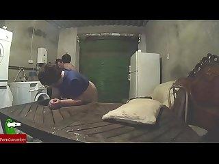 Vamos a hacer maldades en el garaje y te perforo un poco ese coo gordo que tienes gui065