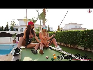 Stacey poole colon playing strip pool with melissa debling lpar staceypoole period co period uk port