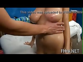 Busty 18 year Old Jessica robbin massaged