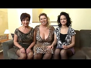 Three Sexy matures fuck one lucky guy creamza com