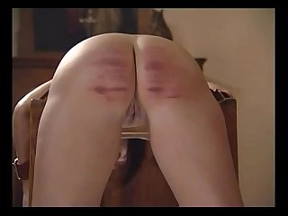 19 GIRLS FEEL THE CANE WITH THE LAST GIRL GETTING CANED FOR FUCKING...