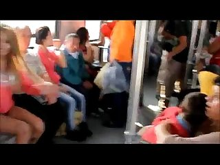 Mujer se desnuda en el Metro de monterrey naked woman on the subway monterrey mx