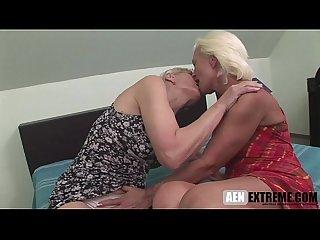 Hairy lesbian grandma
