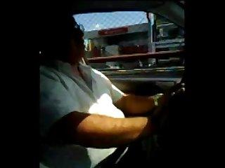 Con el taxista mamandosela period