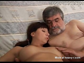Italian dad fucks young daughter