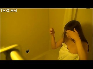 Hiddencam young girl in bathroom
