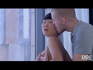 Incredibly Beautiful Asian Teen babe recieves luxury Anal Training