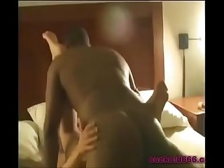 Wife Creampied by BBC while Cuckold Hubby Films on Cuckold666.com