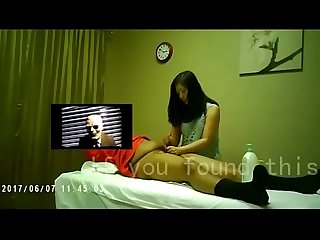 SPA shop full set of hand job -Chinese homemade video