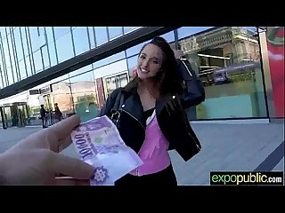 Sex outdoor on camera with horny euro girl amirah adara movie 03