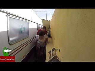 Castigada en el rincn de follar en la calle en pblico con voyeur spycamgui023