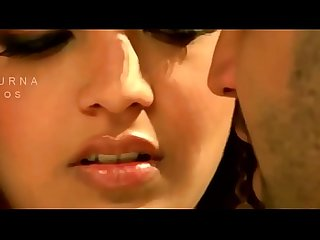Kajal agarwal hottest boob show and kiss