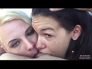 Ferris wheel threesome blowjob with eden Sin sexyspunkygirl