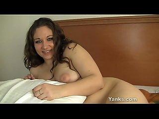 Chubby kara masturbating
