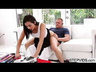 Stepdad fucks malina mars at fathers day