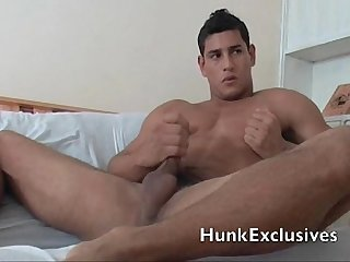 Muscle stud big cock
