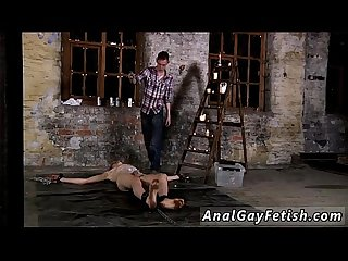 Teen boys in bondage galleries gay chained to the warehouse floor and