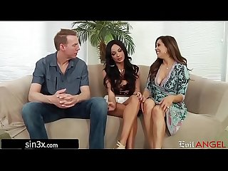 Gorgeous French Student Fucked By Pervy Landlord Couple - Anissa Kate, Francesca Le