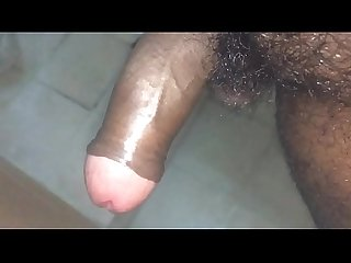 Hot south indian uncut cock super slow mo