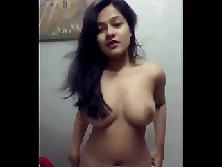 Hot indian student shows her body comment below