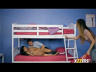 Brenna sparks in bend over bed banged up