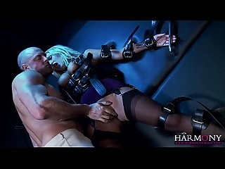 Harmony vision playing fetish magic on bbw