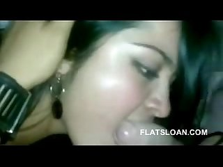 Beautiful girlfriend sucking and enjoying with bf