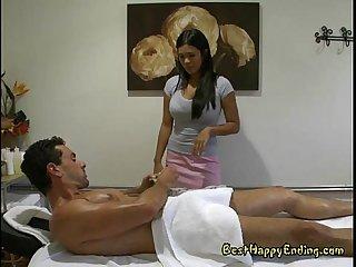 Sexy asian allanah blows cock through and thru
