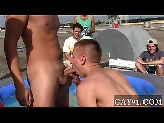 Gay cock stroking group well these boys seem to know the answer to