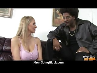Hot milf takes on 12 inch huge monster black cock 30