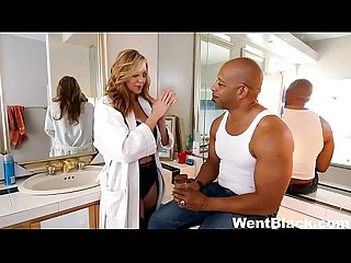 Hot milf julia ann wants to taste black dick