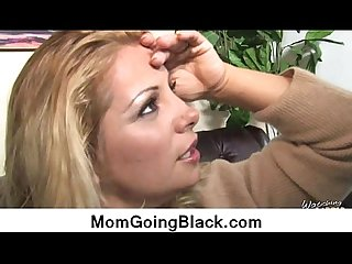 Big black cock on my mommy 10