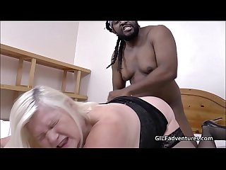 Gilf lacey starr with big fat black cock
