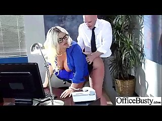 Slut hot girl julie cash with big boobs enjoy nailed hard in office Vid 19