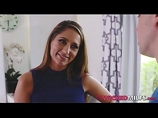 Shy son trained how to fuck by filthy stepmom reena sky