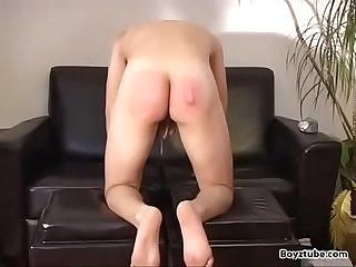 spank hard cute boy