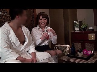 Japanese deep sensual massage