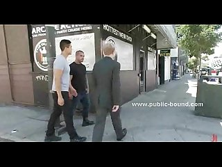Hunk in suit attacked on the streets
