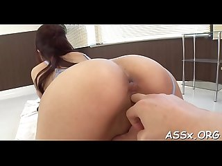 Uncouth japanese anal gang bang