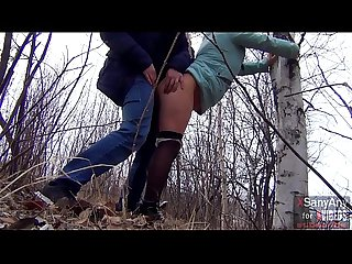 Good sex outdoors with a married hot wife in pantyhose for $ 40 and a mouthful of sperm..