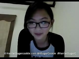 Classic busty asian camgirl harriet sugarcookie on myfreecams harrietsugarc