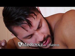 Manroyale muscle Hunks seth santoro and trenton ducati fuck